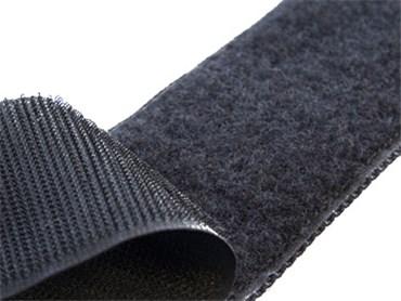 I moyenne 21736 velcro a coudre noir 25 mm de large au metre.net